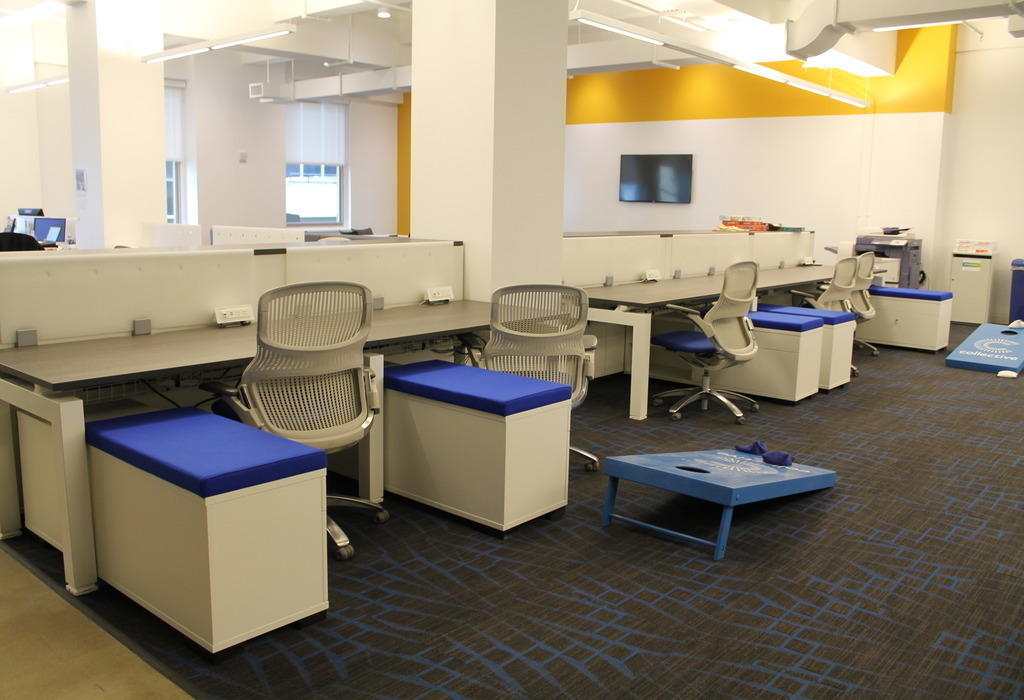Open concept office space images for Office space design
