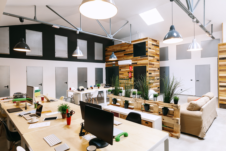 office space design. Modern Trendy Coworking Office Space Design X