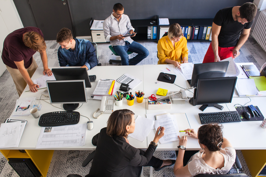 Everything You Need to Know About the Open Office Floor Plan
